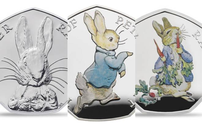 More Beatrix Potter Peter Rabbit 50p Coins
