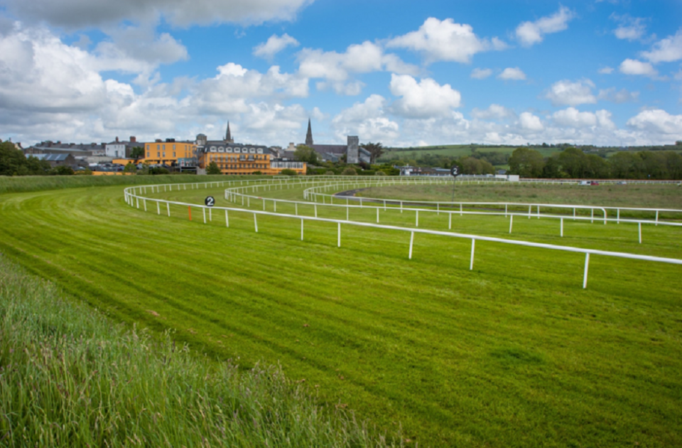 How can a racecourse play a key part in the outcome of a race